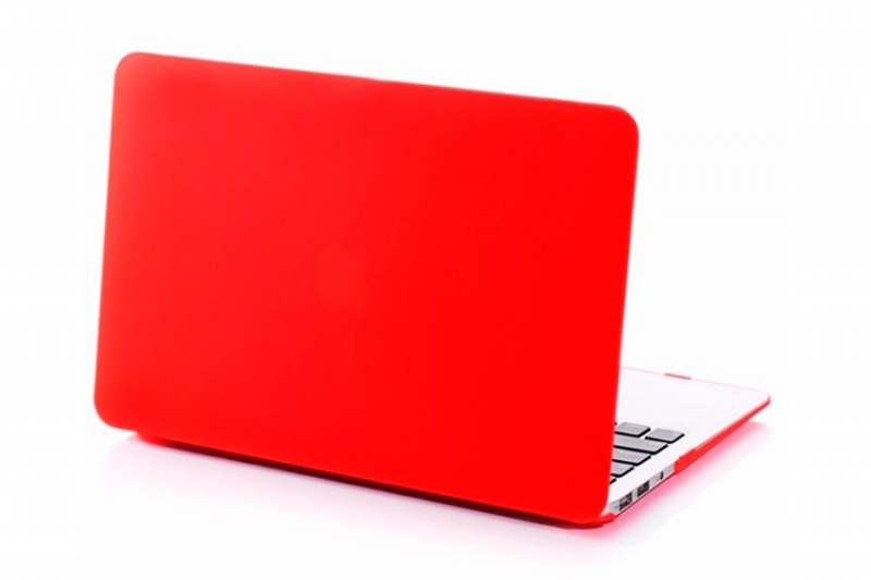 Накладка MacBook Pro 13 HardShell Case (Красный)