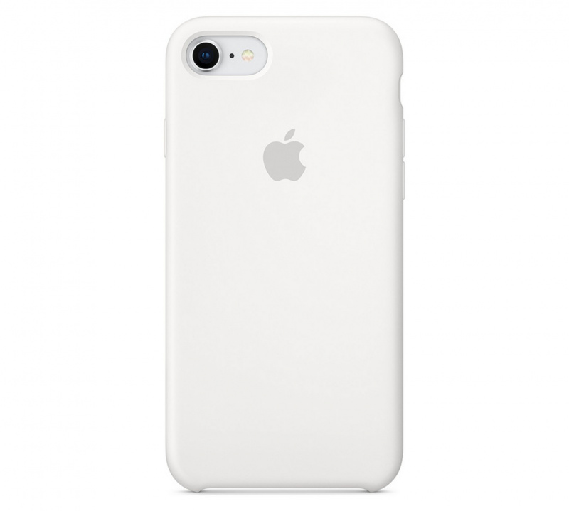 Накладка Apple iPhone 7/8 Silicon Case Sale (Белый)