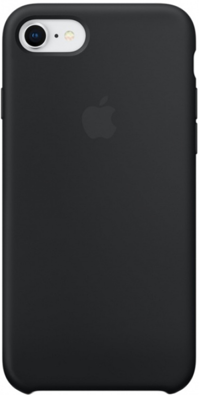 Накладка Apple iPhone 7/8 Silicon Case (Черный)